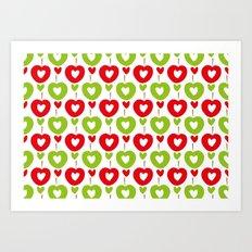 Love Apple Kaur Art Print