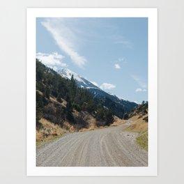 Pray, Montana Art Print