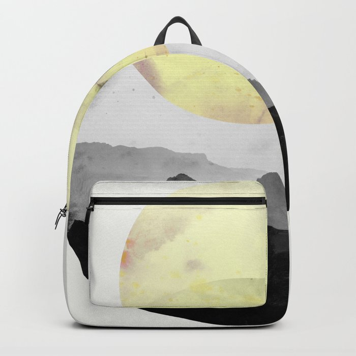 landscape montain nature Backpack