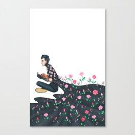 Flowering Tyler Canvas Print