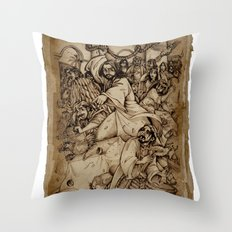 JC: Cleanses the Temple Throw Pillow