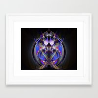 ninja Framed Art Prints featuring Ninja by Robin Curtiss