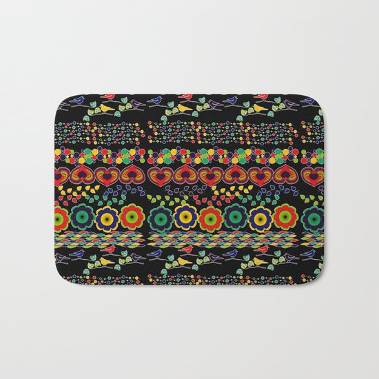 Nature in Patterns Bath Mat