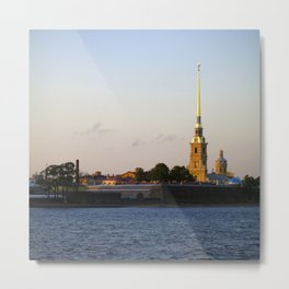The Peter and Paul Cathedral Metal Print