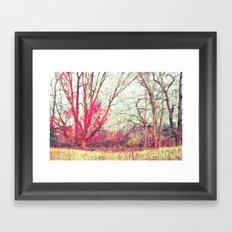 Ruby Winter Framed Art Print