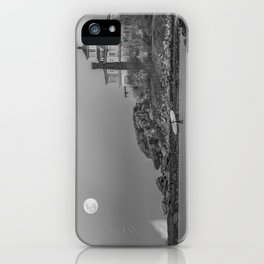 Surf's Over B&W iPhone Case