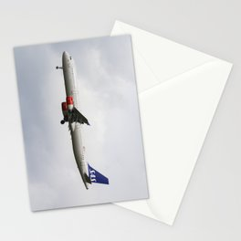 Scandinavian Airlines Airbus A321 Stationery Cards