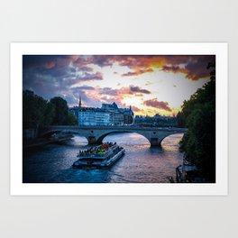Paris.V Art Print