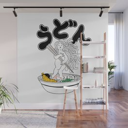 Udon Girl Wall Mural