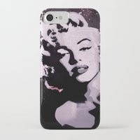 marylin monroe iPhone & iPod Cases featuring MARYLIN by f_e_l_i_x_x