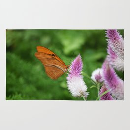 Butterfly On Bloom Rug