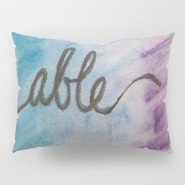 able watercolor print Pillow Sham