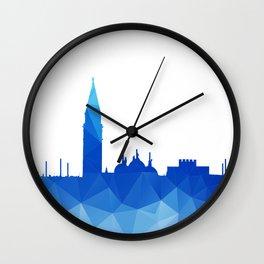 Lo(w poly)ndon Wall Clock