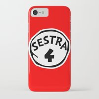 orphan black iPhone & iPod Cases featuring Sestra 4 (Helena - Orphan Black) by Illuminany