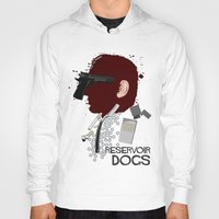 reservoir dogs Hoodies featuring Reservoir Dogs  by edgarascensao