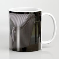 sofa Mugs featuring Me and My Sofa by Anthony M. Davis