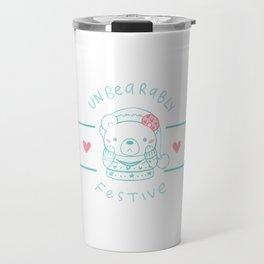 Unbearably Festive Travel Mug