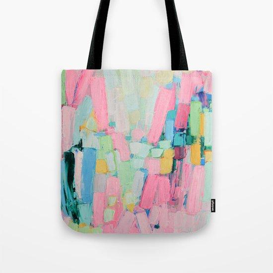 Internodal Peaks Tote Bag