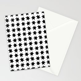 Magical stars Stationery Cards