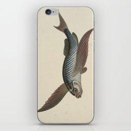 Vintage Flying Fish iPhone Skin