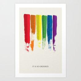 LGBT Pride - Gay Marriage Art Print