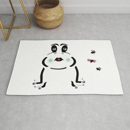 Frog & Flies Rug