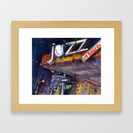Jazz at Lincoln Center - NYC Framed Art Print