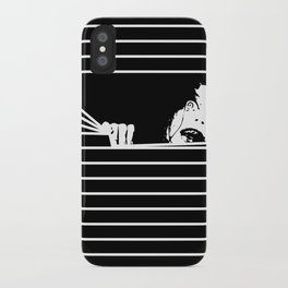 Evil Here iPhone Case