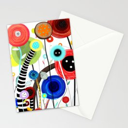 Falling In Love at a Coffee Shop Stationery Cards