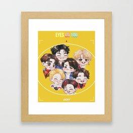 GOT7 Eyes On You Framed Art Print