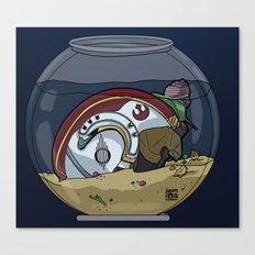 Snail Slimes the Rebel Alliance Canvas Print