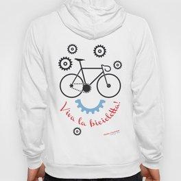 Viva la Bicicletta! (W the bicycle!) Hoody