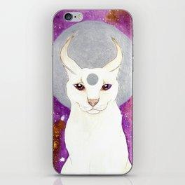 White Caracal iPhone Skin