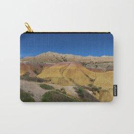 Colorful Badlands Landscape Carry-All Pouch
