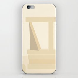 Shape study #13 - Stackable Collection iPhone Skin