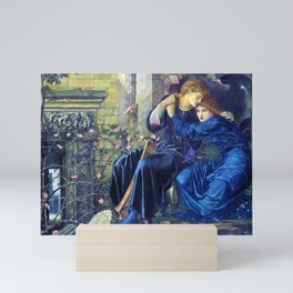 12,000pixel-500dpi - Edward Burne-Jones  - Love Among the Ruins - Digital Remastered Edition Mini Art Print