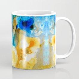 Iced Lemon Drop Abstract Art By Sharon Cummings Coffee Mug