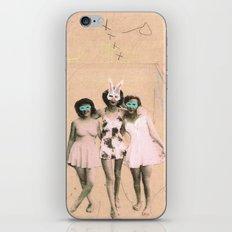 Imaginary Friends- Playmates iPhone & iPod Skin