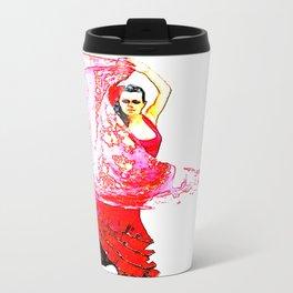 Bailarina Española ( Spanish Dancer ) Travel Mug