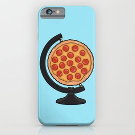 Pizza Makes the World Go Round iPhone Case