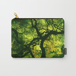 Green is the Tree Carry-All Pouch