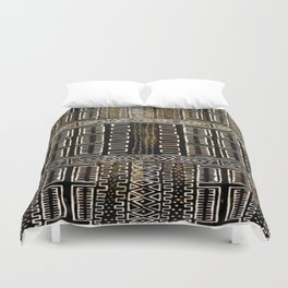 Mud Cloth Painting Duvet Cover