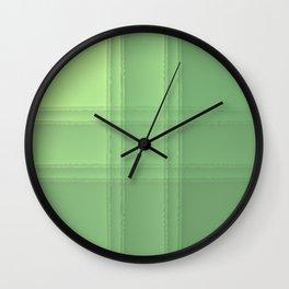 # Green Wall Clock