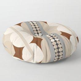 Taupe Linen Grey Neutrals Floor Pillow