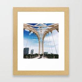 Humber Bay Park Bridge Framed Art Print