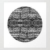 dot Art Prints featuring Dot by Tillytyler