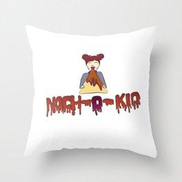 Nach-O-Kid Throw Pillow