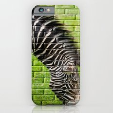 Zebra on the Wall Slim Case iPhone 6s