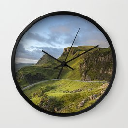 Sunrise Over the Quiraing Wall Clock