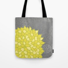 Spring colorful peonies yellow #5 Tote Bag